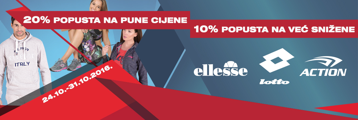 Ellesse, Lotto i Action