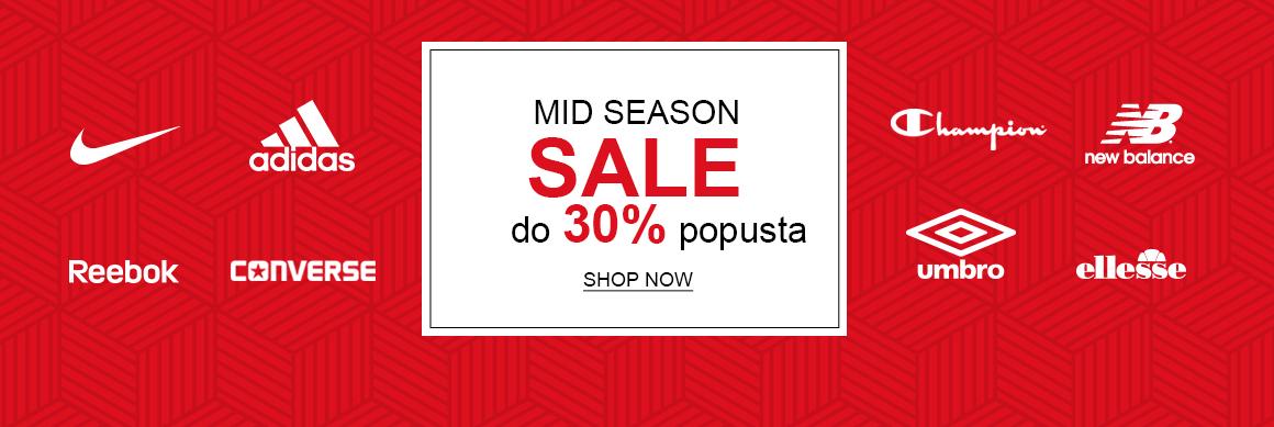 Mid Season Sale - do 30%