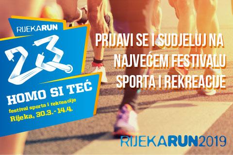 Rijeka Run - festival sporta i rekreacije od ove godine u bliskoj suradnji sa Sport Visionom