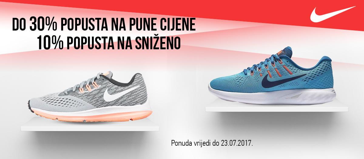 Nike 30% popusta - 10% popusta