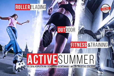 Active summer akcija