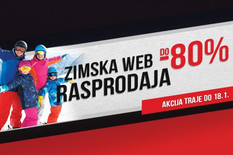 Web rasprodaja do 80%