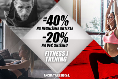 Ostani fit uz popuste do 40%