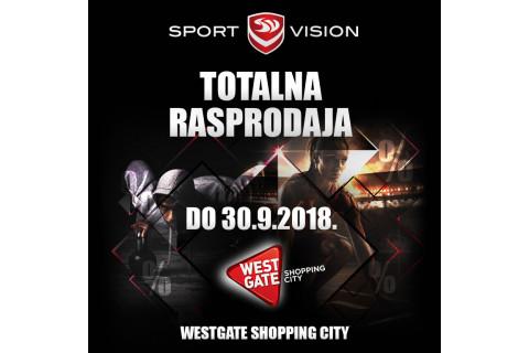 Znaš li za totalnu Sport Vision rasprodaju u Westgate Shopping Cityju?