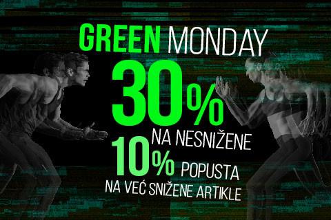 Green Monday popusti do 30%