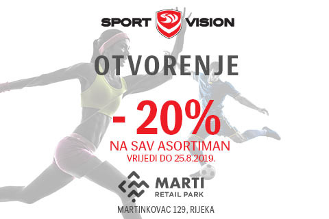 Sport Vision otvorio vrata u Marti Retail Parku