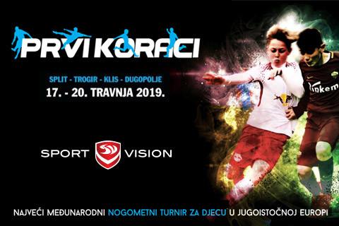 Suradnja turnira Prvi koraci i  Sport Visiona se nastavlja!