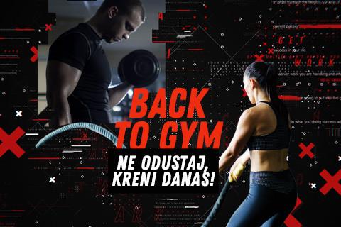Back 2 Gym!
