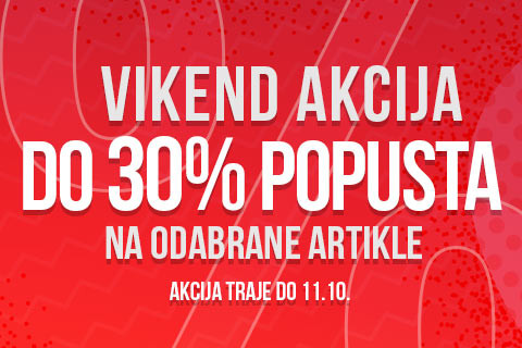 Web vikend akcija