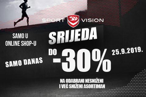 Sport Vision srijeda!