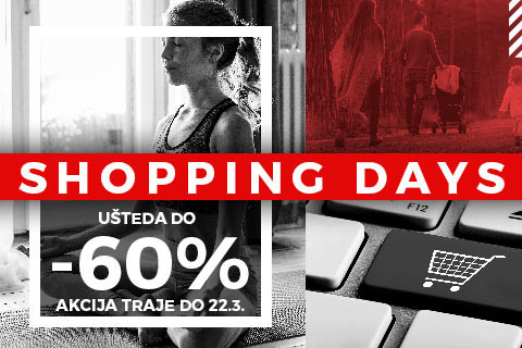 Shopping days- do 60%