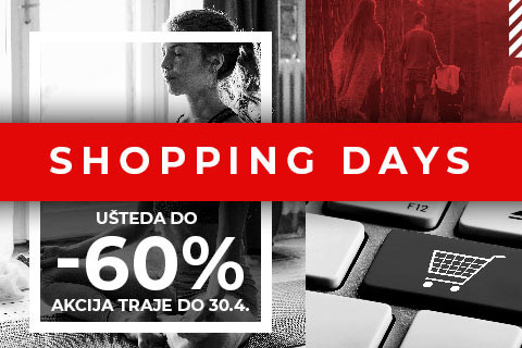 SHOPPING DAYS- ušteda do 60%