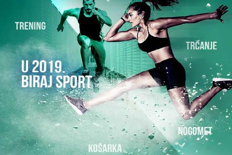 U 2019. biraj sport