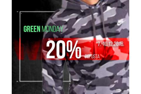 20% popusta za Green Monday vikend