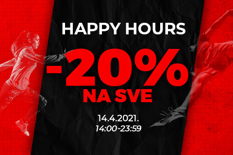 HAPPY HOURS u Sport Visionu