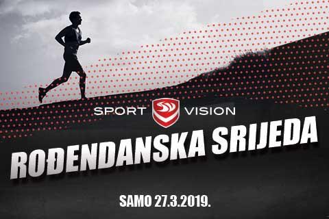 Sport Vision ROĐENDANSKA srijeda!
