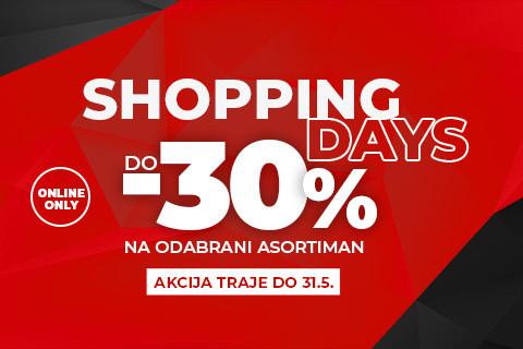 Sport Vision shopping days