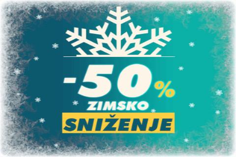 Sezonsko sniženje- do 50% popusta