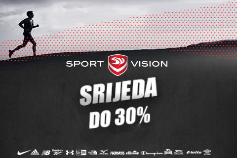 Sport Vision srijeda- do 30%