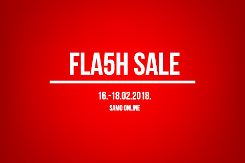 [FLA5H SALE] Akcija za pet na Sport Vision web shopu