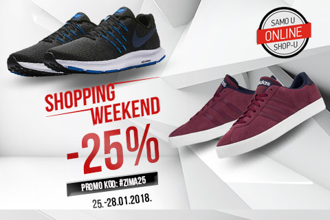 [SHOPPING WEEKEND] -25% na više od 4000 artikala