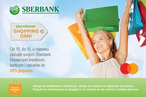 SBERBANK shopping days u Sport Visionu