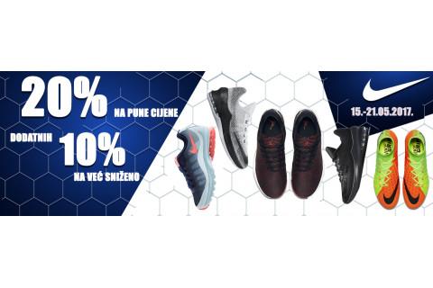 Ne propustite: 20% popusta na Nike tenisice