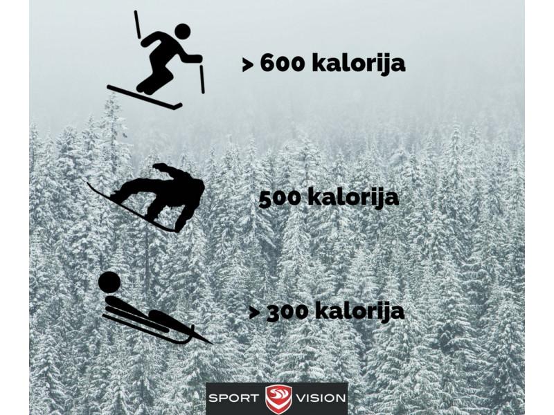 Koji zimski sportovi troše najviše kalorija?