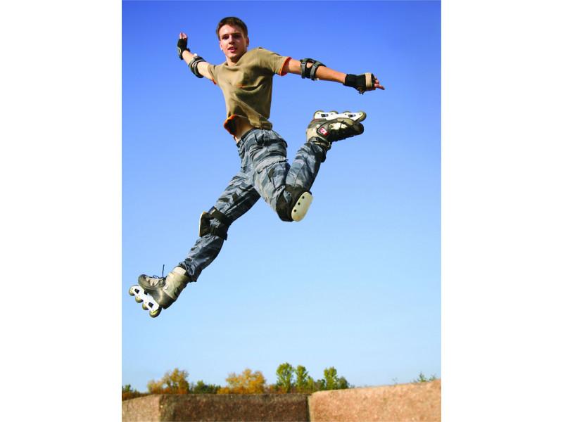 Rolanje je in - ojačaj mišiće stražnjice i nogu!