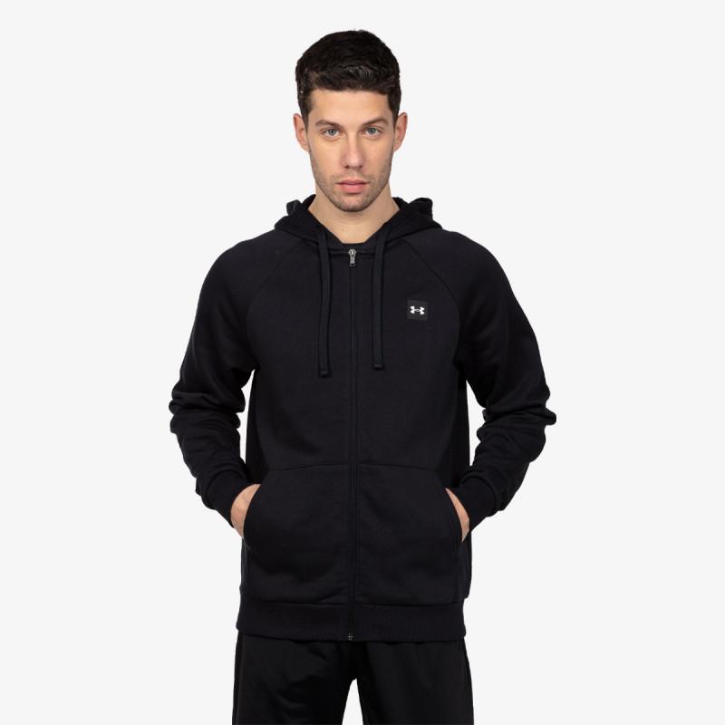 UNDER ARMOUR majica s kapuljačom na patent Rival Fleece FZ