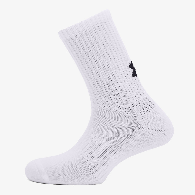 UNDER ARMOUR čarape Core Crew 3PK