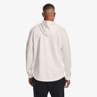 UNDER ARMOUR majica s kapuljačom RIVAL TERRY BIG LOGO HD