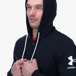 UNDER ARMOUR majica s kapuljačom na patent RIVAL TERRY FZ HD