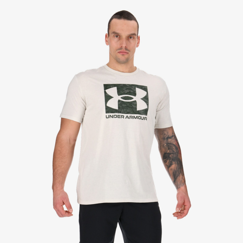 UNDER ARMOUR t-shirt ABC CAMO BOXED LOGO SS