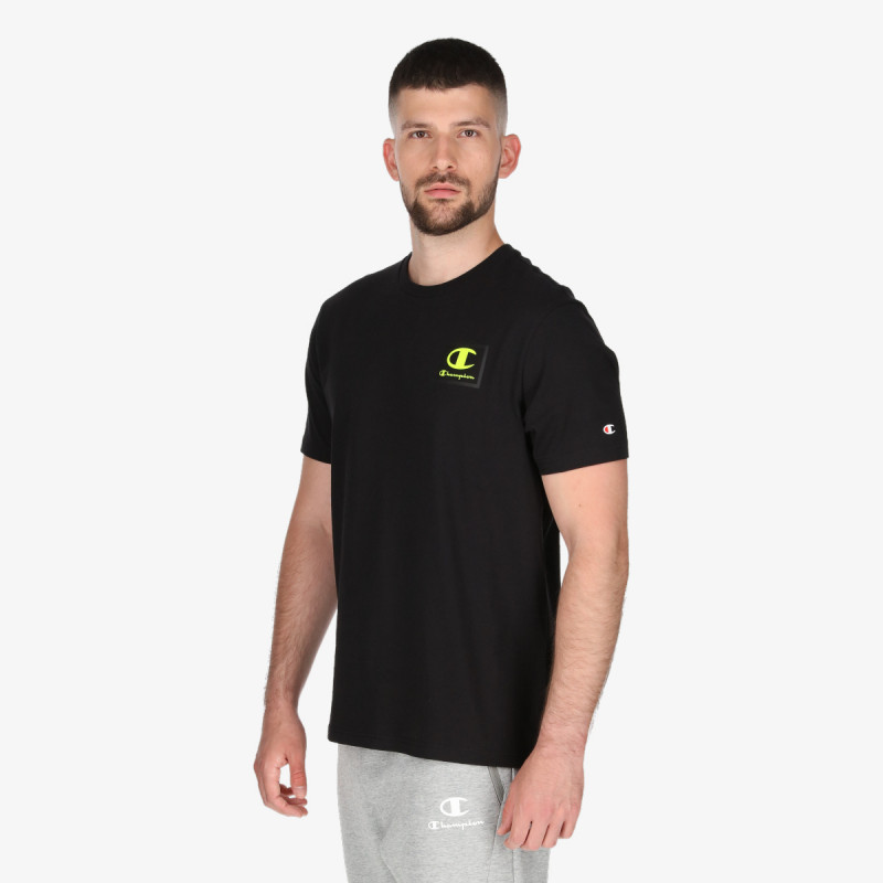 CHAMPION t-shirt RUBBER LOGO