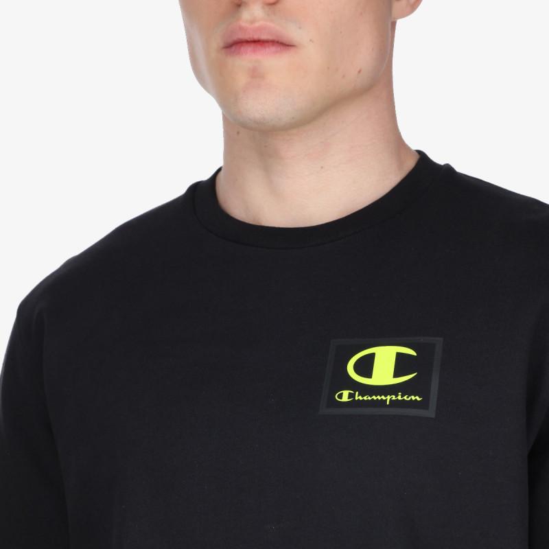 CHAMPION majica bez kragne RUBBER LOGO