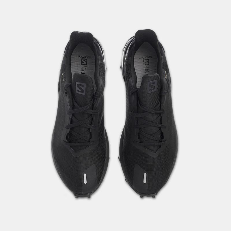 SALOMON tenisice ALPHACROSS 3 GTX Black/Black/Bl
