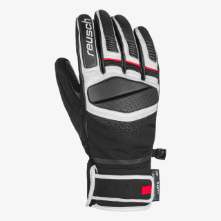 REUSCH rukavice MASTERY BK/WH/FIRE RED