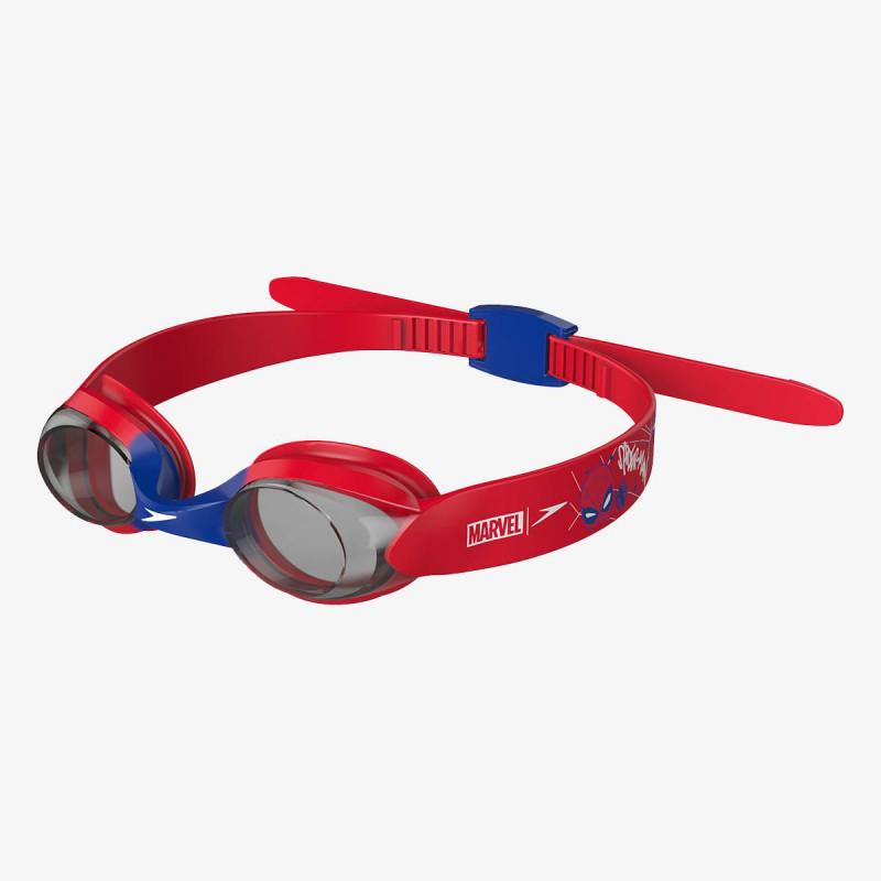 SPEEDO dječje zaštitne naočale ILLUSION GOG IU RED/SMOKE