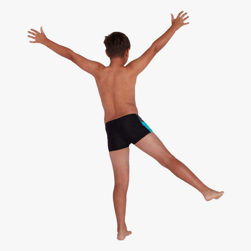 SPEEDO dječje kupaće gaće DIVE ASHT JM BLACK/GREY
