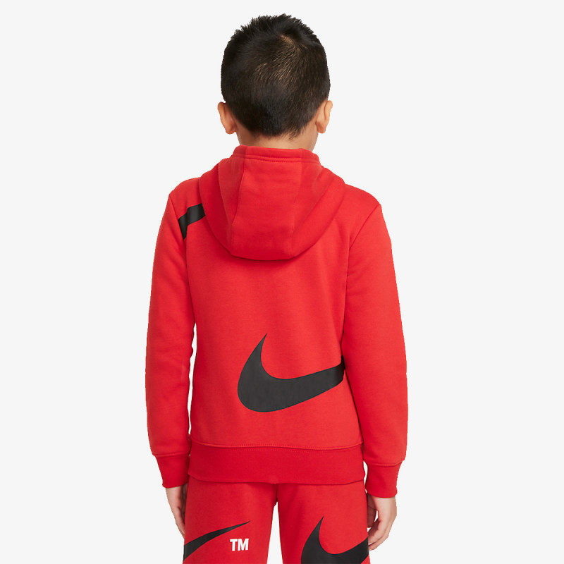 NIKE dječja majica s kapuljačom na patent NKB SWOOSH