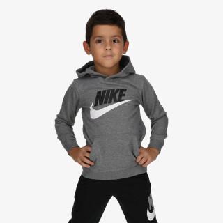 NIKE dječja majica s kapuljačom NKN CLUB HBR FRENCH TERRY PO