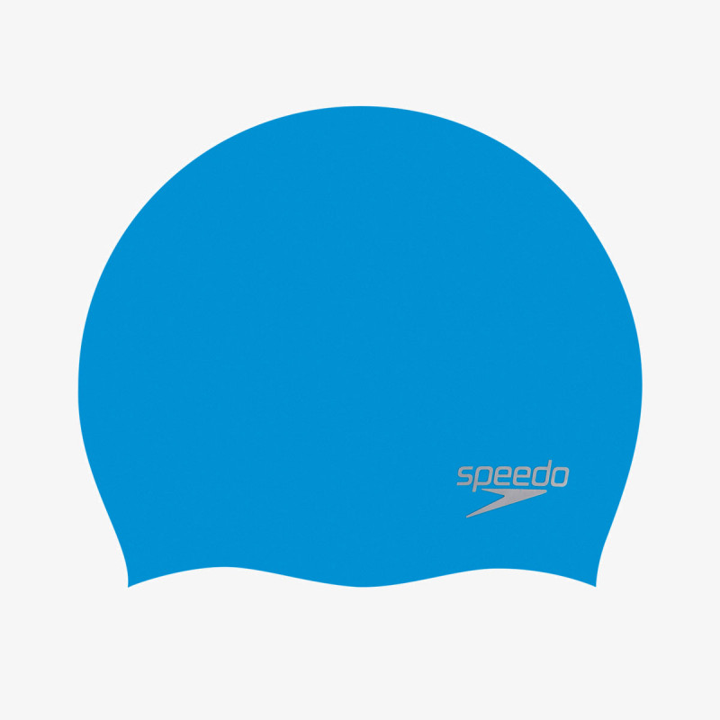 SPEEDO plivačka kapa MOULDED SILC AU BLUE/SILVER