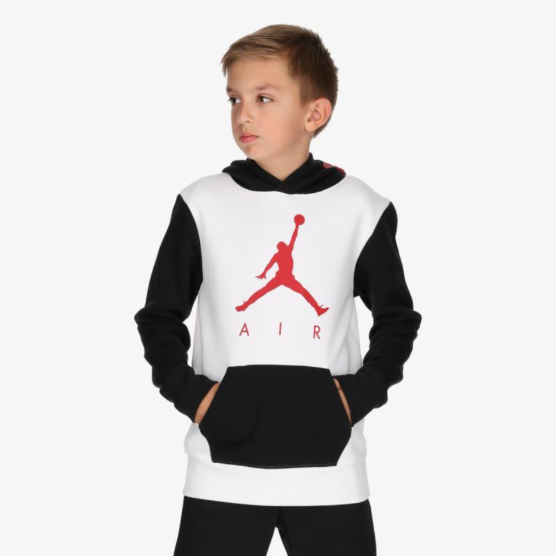 NIKE dječja majica s kapuljačom JORDAN JDB JUMPMAN AIR GFX 2