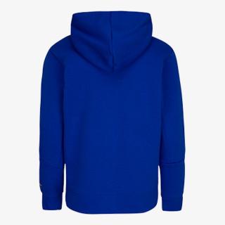 NIKE dječja majica s kapuljačom na patent JORDAN JDB JUMPMAN BY NIKE FZ