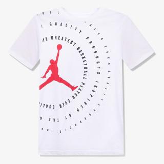NIKE dječji t-shirt JORDAN JDB JUMPMAN RINGS