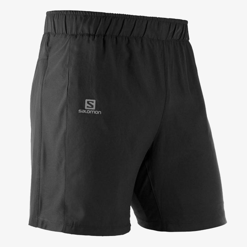 SALOMON kratke hlače AGILE 2IN1 M Black