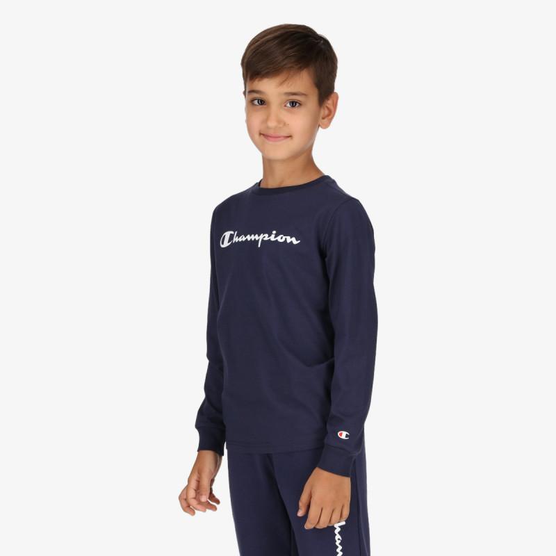CHAMPION dječja majica dugih rukava BOYS BASIC LST