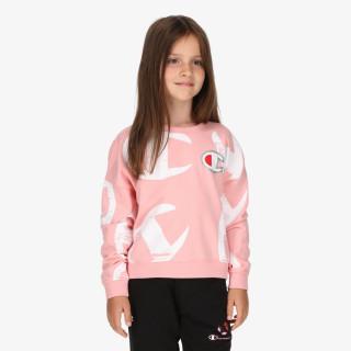 CHAMPION dječja majica bez kragne GIRLS ROCH