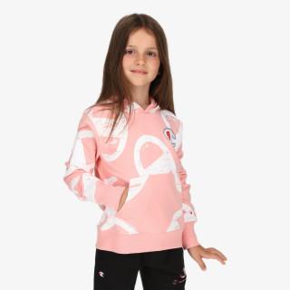 CHAMPION dječja majica s kapuljačom GIRLS ROCH